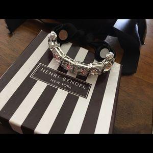Henri Bendel Swarovski Velvet Bracelet